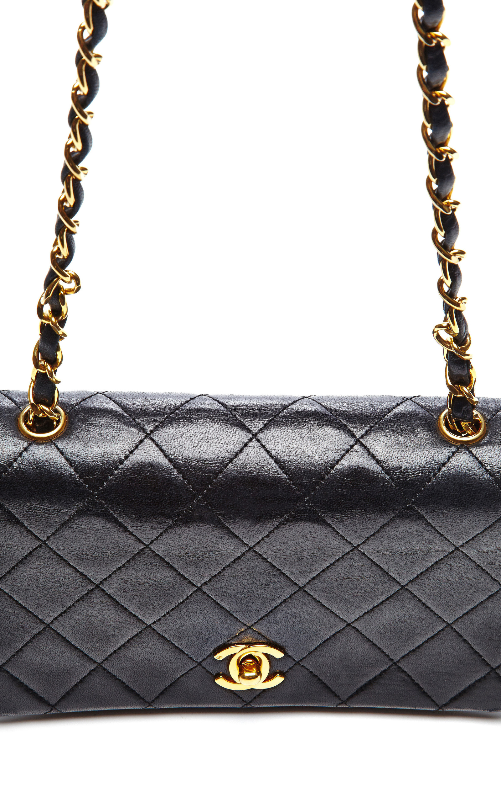 1816471d65b28b Collectible JacketsChanel Black Quilted Lambskin Mini Single Flap Bag from What  Goes Around Comes Around. CLOSE. Loading. Loading. Loading. Loading. Loading