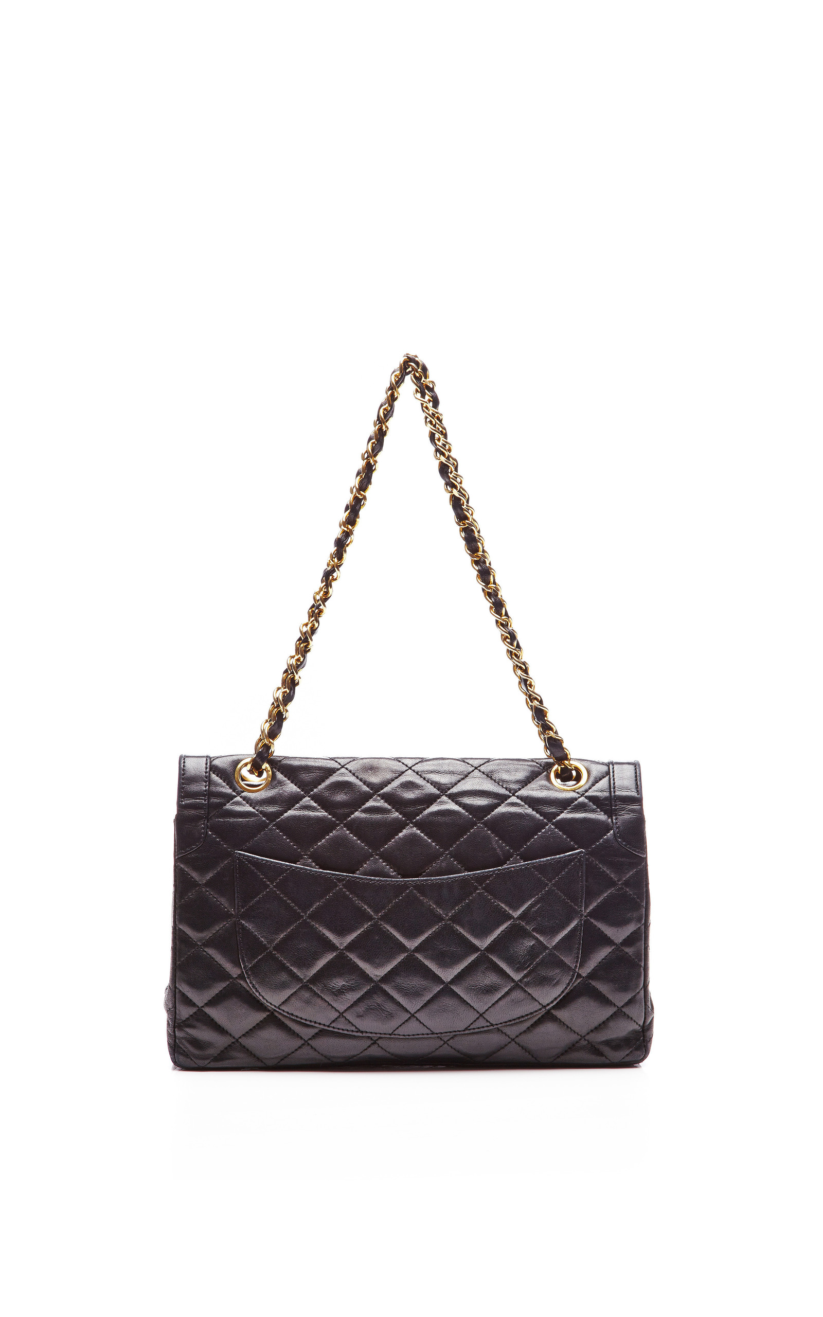 Chanel Black Quilted Lambskin Limited Edition 2.55 Bag  5f7ead5b382bb