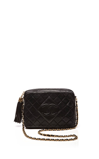 Medium collectible jackets black chanel black lambskin embossed camera bag from what goes around comes around
