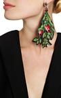 Masterpeace Individual Vintage Wool Jade Earring by MASTERPEACE for Preorder on Moda Operandi