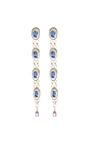 Vintage Rose Detail Drop Earrings by MASTERPEACE Now Available on Moda Operandi