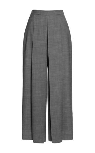 Medium alexander wang white high waisted trouser with box pleat