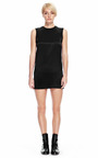 Crew Neck Dress With Exposed Distressed Back by ALEXANDER WANG for Preorder on Moda Operandi