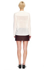 Featherweight V Neck With Seamless Neck Trim by ALEXANDER WANG for Preorder on Moda Operandi