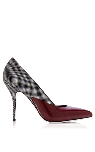 Medium alexander wang burgundy cisely pump