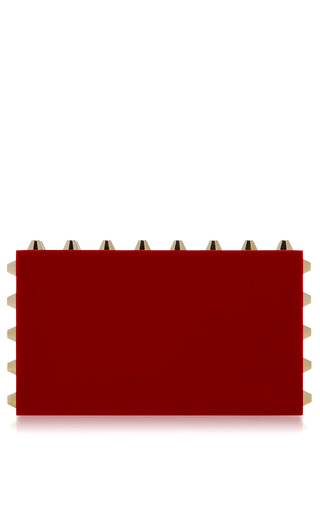 Medium charlotte olympia red naughty pandora clutch in red