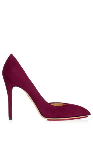 Medium charlotte olympia red the lady is a vamp pump in bordeaux