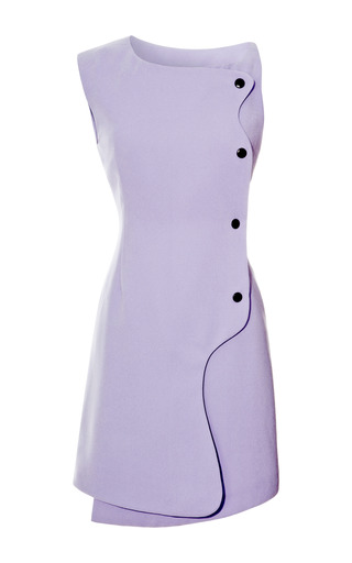 Medium opening ceremony purple isla snap front dress