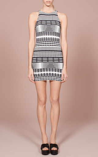 Jagged Lines Sleeveless Dress by OPENING CEREMONY for Preorder on Moda Operandi