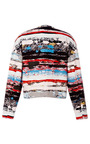 Terazzo Amorphic Front Jacket by OPENING CEREMONY for Preorder on Moda Operandi