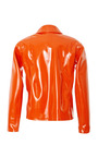 Lacquered Keyhole Jacket by OPENING CEREMONY for Preorder on Moda Operandi