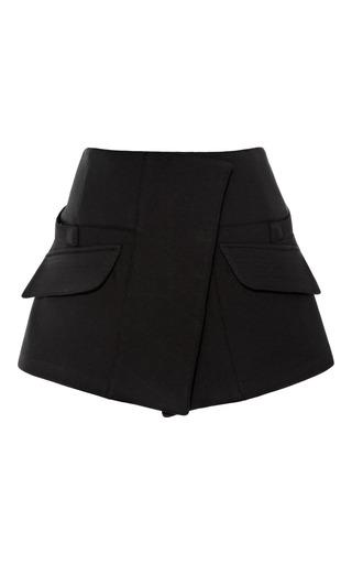 Medium opening ceremony black keaton military mini skirt