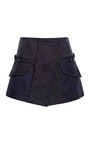 Navy Technotronic Military Mini Skirt by OPENING CEREMONY for Preorder on Moda Operandi