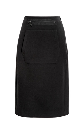 Medium opening ceremony black keaton kangaroo pencil skirt