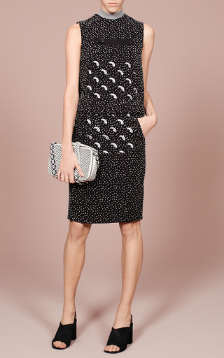 Black Daza Embellished Kangaroo Skirt by OPENING CEREMONY for Preorder on Moda Operandi