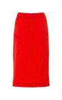 Burnt Red Daza Embellished Kangaroo Skirt by OPENING CEREMONY for Preorder on Moda Operandi