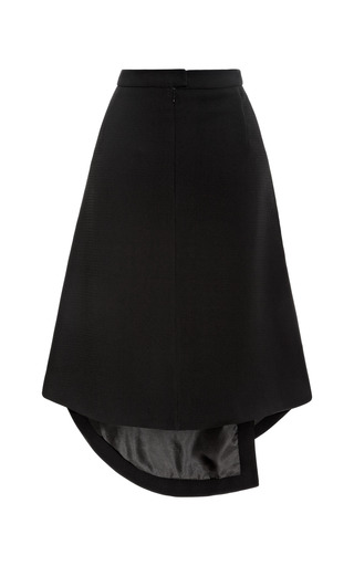 Black Theroux Keyhole Skirt by OPENING CEREMONY for Preorder on Moda Operandi