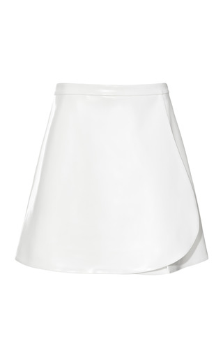 Medium opening ceremony off white bone lacquered keyhole skirt