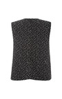 Black Daza Embellished Kangaroo Top by OPENING CEREMONY for Preorder on Moda Operandi