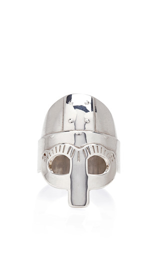 Medium aurelie bidermann silver medieval mordred silver ring