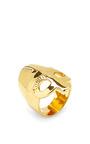 Medieval Mordred Gold Vermeil Ring by AURéLIE BIDERMANN Now Available on Moda Operandi