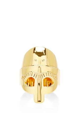 Medium aurelie bidermann gold medieval mordred gold vermeil ring