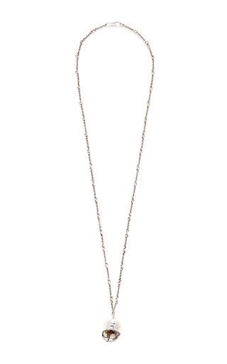Maximus Helmet Long Chain Necklace by AURéLIE BIDERMANN Now Available on Moda Operandi