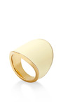 Gold Plated And Enamel Ring by AURéLIE BIDERMANN Now Available on Moda Operandi