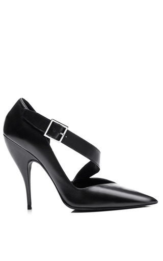 Medium narciso rodriguez black julianna pump 2