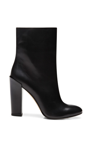 Medium paul andrew black baxt ankle boots