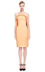 Stretch Duchess Strapless Dress by ZAC POSEN for Preorder on Moda Operandi
