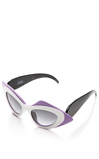 + Prabal Gurung Cat Eye Acetate Sunglasses by LINDA FARROW Now Available on Moda Operandi