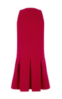 Sleeveless Bonded Crepe V Neck Dress by THAKOON for Preorder on Moda Operandi