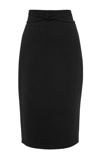 Pencil Skirt With Waist Detail by OSCAR DE LA RENTA Now Available on Moda Operandi