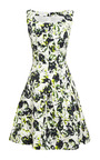 Sleeveless Full Pleated Dress by OSCAR DE LA RENTA Now Available on Moda Operandi