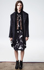 Abstract Floral Lace Inset Skirt by THAKOON for Preorder on Moda Operandi