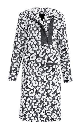 Leopard Burnout Long Coat by THAKOON for Preorder on Moda Operandi