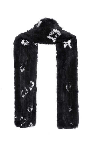 Rabbit Fur Scarf by THAKOON for Preorder on Moda Operandi