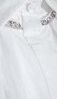 Long Sleeve Jewel Trim Shirt by THAKOON for Preorder on Moda Operandi