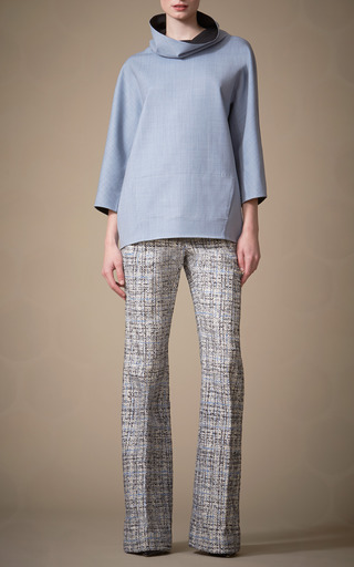 Blouse With Funnel Neck by CAROLINA HERRERA for Preorder on Moda Operandi