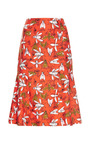 Bee Family Gathereing Print Skirt by CAROLINA HERRERA for Preorder on Moda Operandi