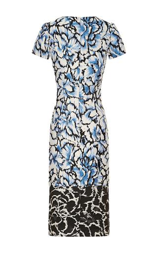 Floral Printed Sheath Dress by CAROLINA HERRERA for Preorder on Moda Operandi