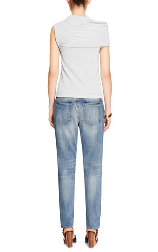 The Fling Distressed Jeans by CURRENT/ELLIOTT Now Available on Moda Operandi