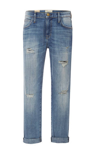 Medium current elliott blue the fling distressed jeans