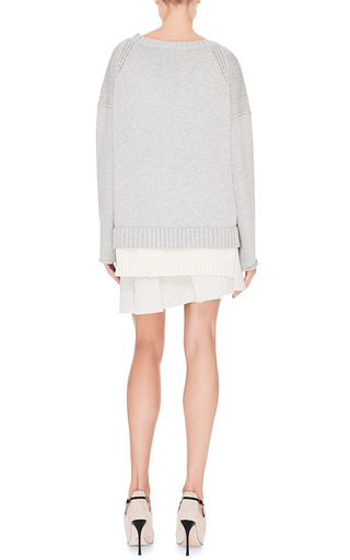 Box Pleat Quilted Mini Skirt by DEREK LAM 10 CROSBY Now Available on Moda Operandi