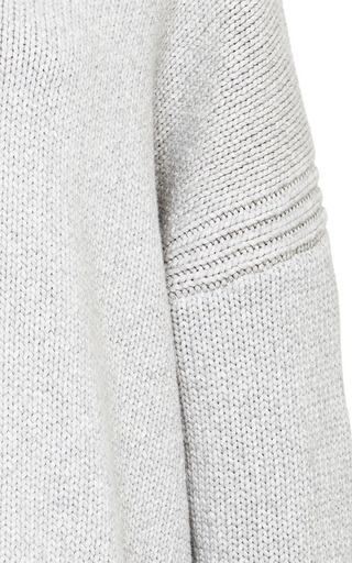 Oversized Cotton Blend Sweater by DEREK LAM 10 CROSBY Now Available on Moda Operandi