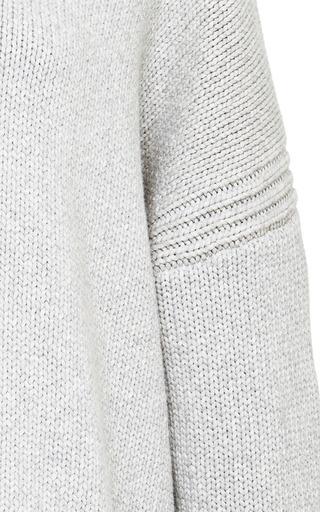 Oversized Cotton Blend Sweater by DEREK LAM 10 CROSBY Now Available on Moda Operandi