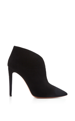 Medium aquazzura black inga bootie