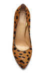 Dolly Printed Pony Skin Platform Pumps by CHARLOTTE OLYMPIA Now Available on Moda Operandi