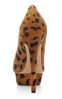Dolly Printed Pony Skin Platform Pumps by CHARLOTTE OLYMPIA Now Available on Moda Operandi
